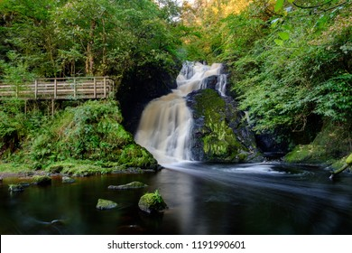 Spectacle E'e Falls, near Strathaven and Sandford