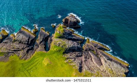 Spectacular Atlantic Coast in Scotland