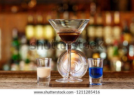 A spectacular cocktail with