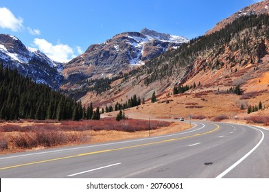 Spectacular Colorado mountain road