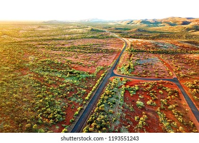 Spectacular colours of Australian outback