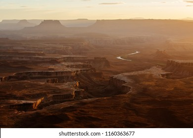 Spectacular landscapes of Canyonlands National park in Utah, USA
