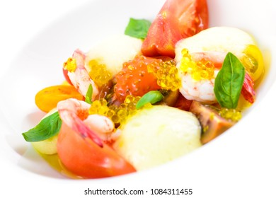 Spectacular lobster dish