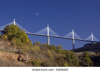 Spectacular Millau viaduct