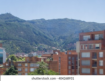 Spectacular panorama of Bogota, Colombia