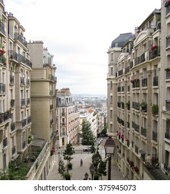 Spectacular panorama of Paris, France