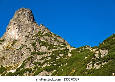 Spectacular peak of Jastrabia-veza in Slovakia - Shutterstock ID 133390367