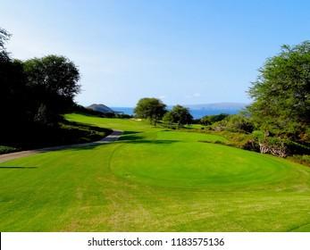 Spectacular Resort Golf Course in Maui, Hawaii