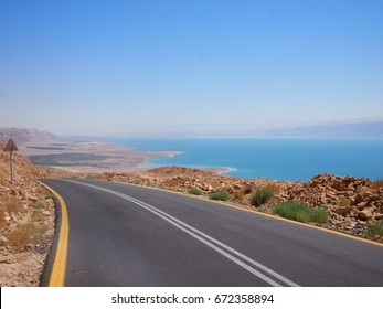 The spectacular road trip along Route 90 beside the Dead Sea in Israel