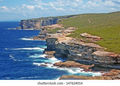 Spectacular Rugged Coastline, Sydney, NSW Australia