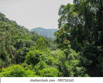 Spectacular tropical landscape in the middle of Brazil