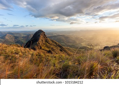 Spectacular views of Guanacaste Costa Rica from the top of this local treasure, Cerro Pelado, specially at sunset