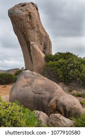 Spectacular Whistling Rock, one of the highlights in the Cape Le Grand National Park, Western Australia