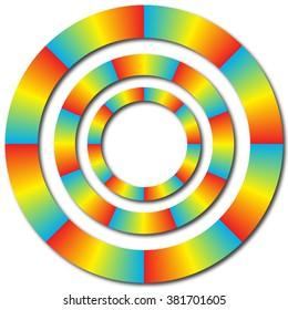 Spectrum Spin Rings