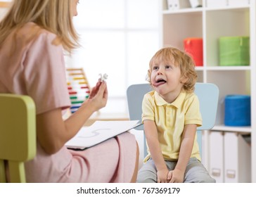 speech therapy exercises with tongue for kid