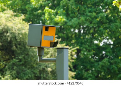 A speed camera in London,UK
