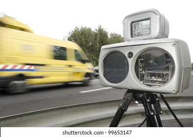 speed camera on highway