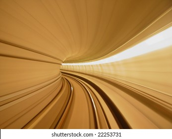 speed concept, tunnel