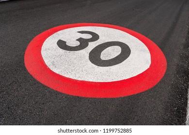 Speed Limit 30, Germany