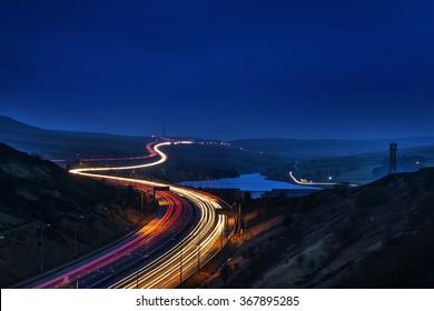 Speed - M62 Motorway