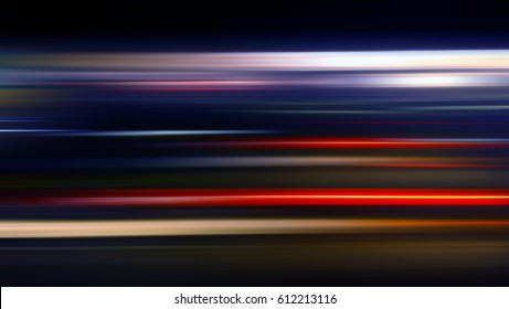 speed motion background in black background
