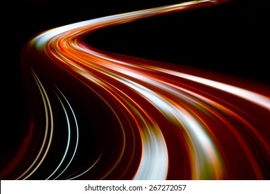 Speed motion at night