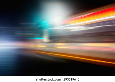 Speed motion of traffic lights