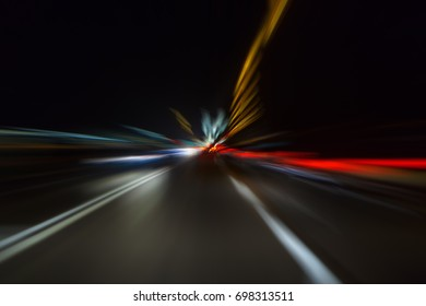 speed night traffic
