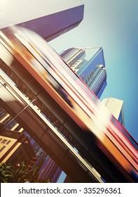 Speed Skytrain in Kuala Lumpur Metropolitan Concept