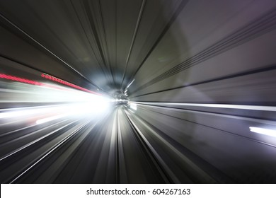 Speed in the tunnel