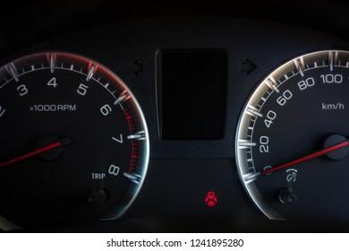 Speedometer scoring high in  Car
