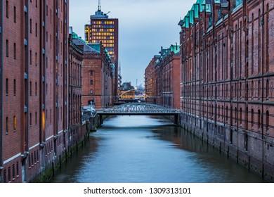 Speicherstadt in Hamburg, beautiful place