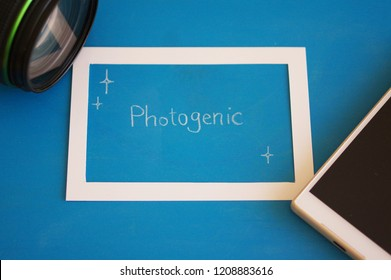 "spelling of ""Photogenic"""