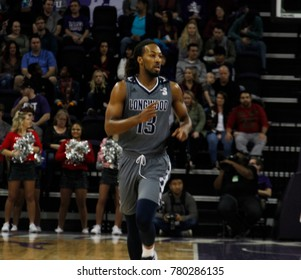 Spencer Franklin forward for the Longwood University Lancers at GCU Arena in Phoenix Arizona USA December 21,2017.