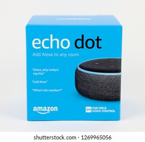 Spencer, Wisconsin, December, 29,   Echo Dot 3rd Generation  Echo Dot is a voice activated electronic device sold by Amazon