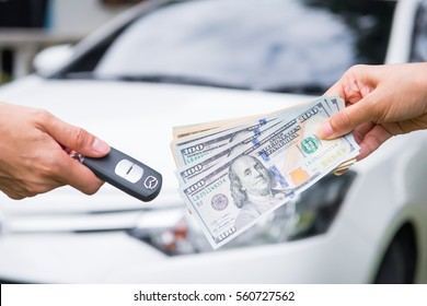 Spend a dollar to buy the car