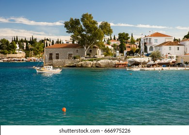 Spetses old harbor