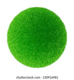 Sphere from a grass