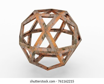 Sphere, Leonardo da Vinci; Codex Atlanticus 0707r. 3D model.