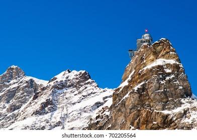 Sphinx observatory, The view point at Jungfraujoch, Switzerland