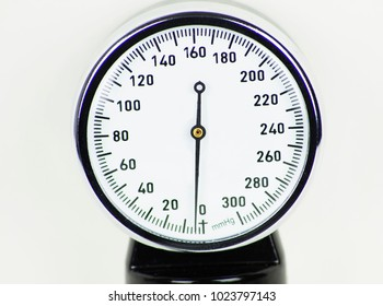 Sphygmomanometer high resolution image depicting blood pressure control