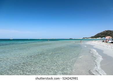 Spiaggia di Capo Comino near Siniscola, Sardinia