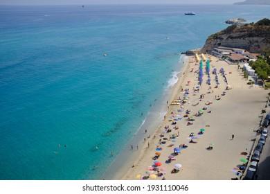 Spiaggia Mare Piccolo Beach, Tropea, Calabria, Italy
