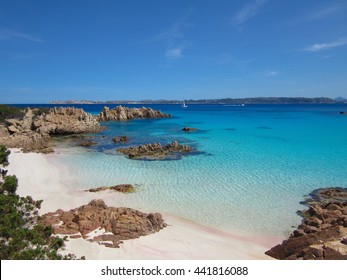Spiaggia Rosa in Sardegna, one of the beautiful beaches in Italy