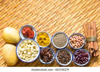 Spice is a natural Use condiment Various type.