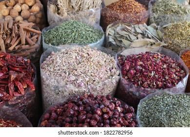 The Spice Souk in Dubai, United Arab Emirates