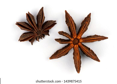 Spice - star anise, natural product