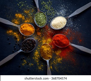 Spices and herbs - Shutterstock ID 368704574