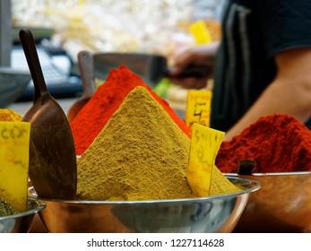 Spices at Mahane Yehuda Market