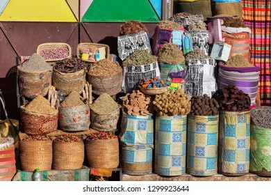 Spices Market in Marrakesh. Marrakesh, Marrakesh-Safi, Morocco.